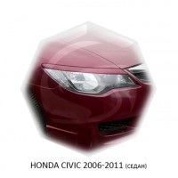Реснички Стеклопластик HONDA CIVIC (седан) 06-11