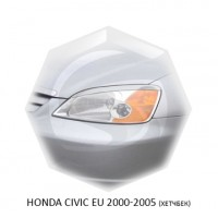 Реснички Стеклопластик HONDA CIVIC EU(хетчбек) 00-05