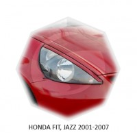Реснички Стеклопластик HONDA FIT JAZZ 01-07